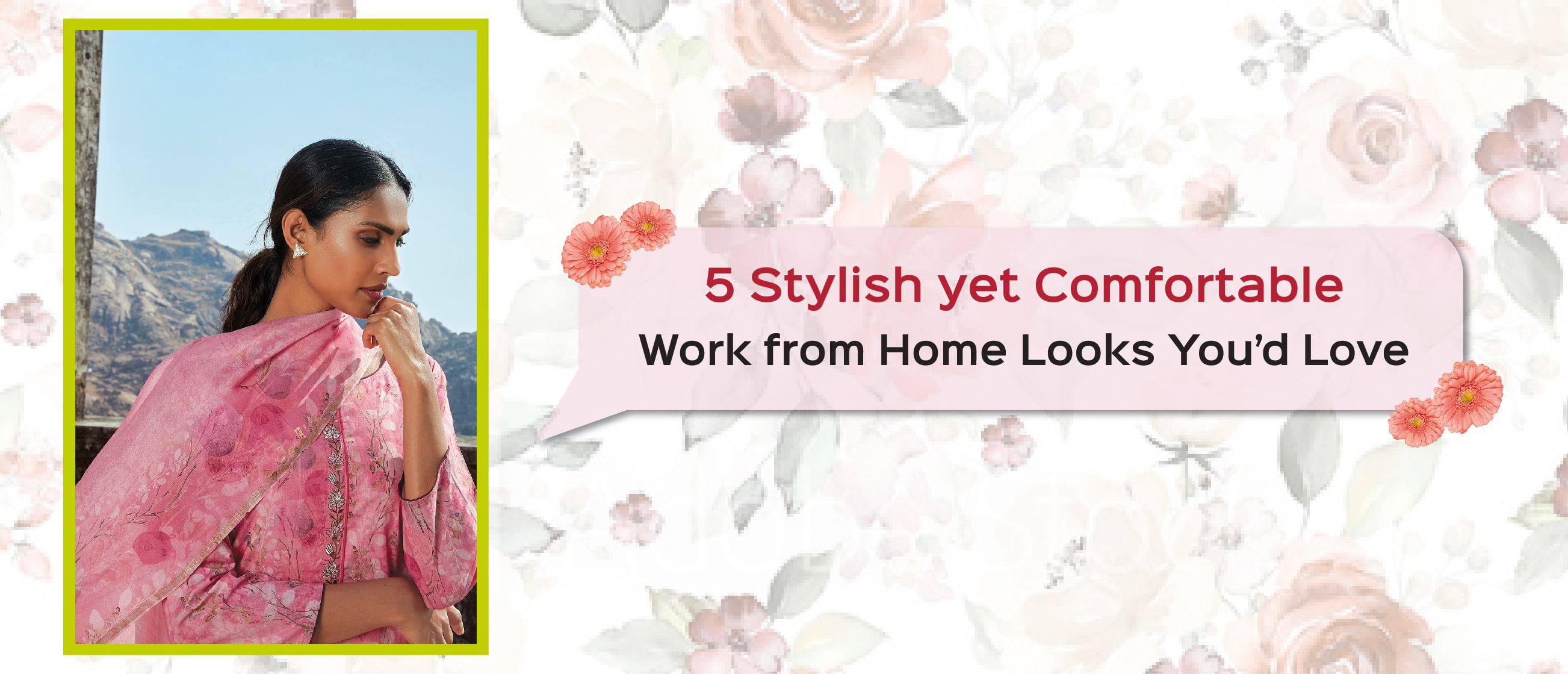 5 Stylish yet Comfortable Work from Home Looks You'd Love