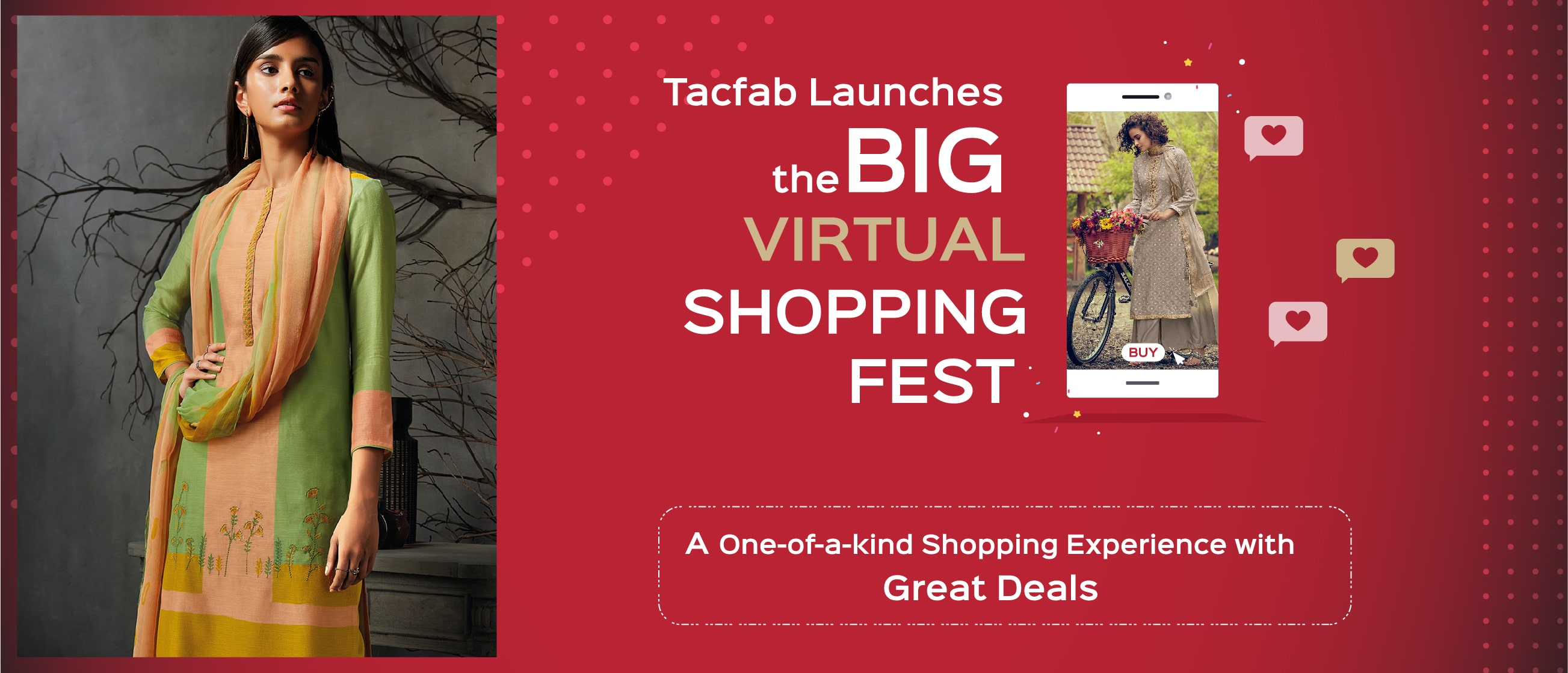 Tacfab Launches the Big Virtual Shopping Festival, a One-of-a-kind Shopping Experience with Great Deals