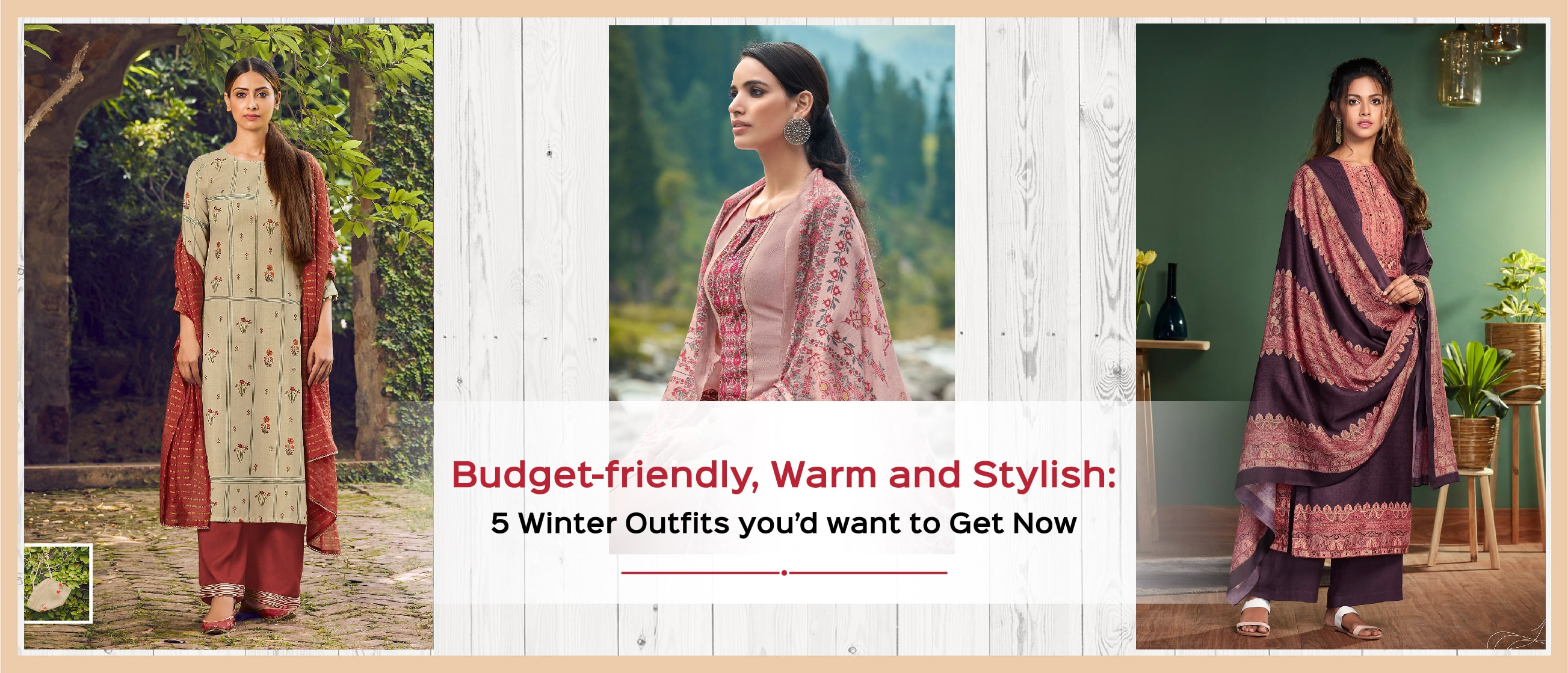 Budget-friendly, Warm and Stylish: 5 Winter Outfits you'd want to Get Now