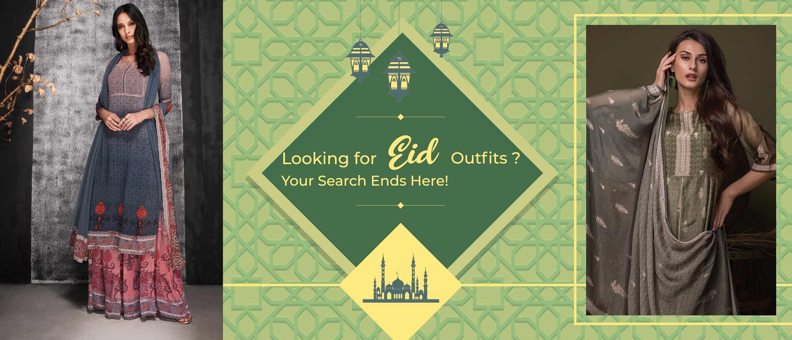 Looking for Eid Outfits? Your Search Ends Here!