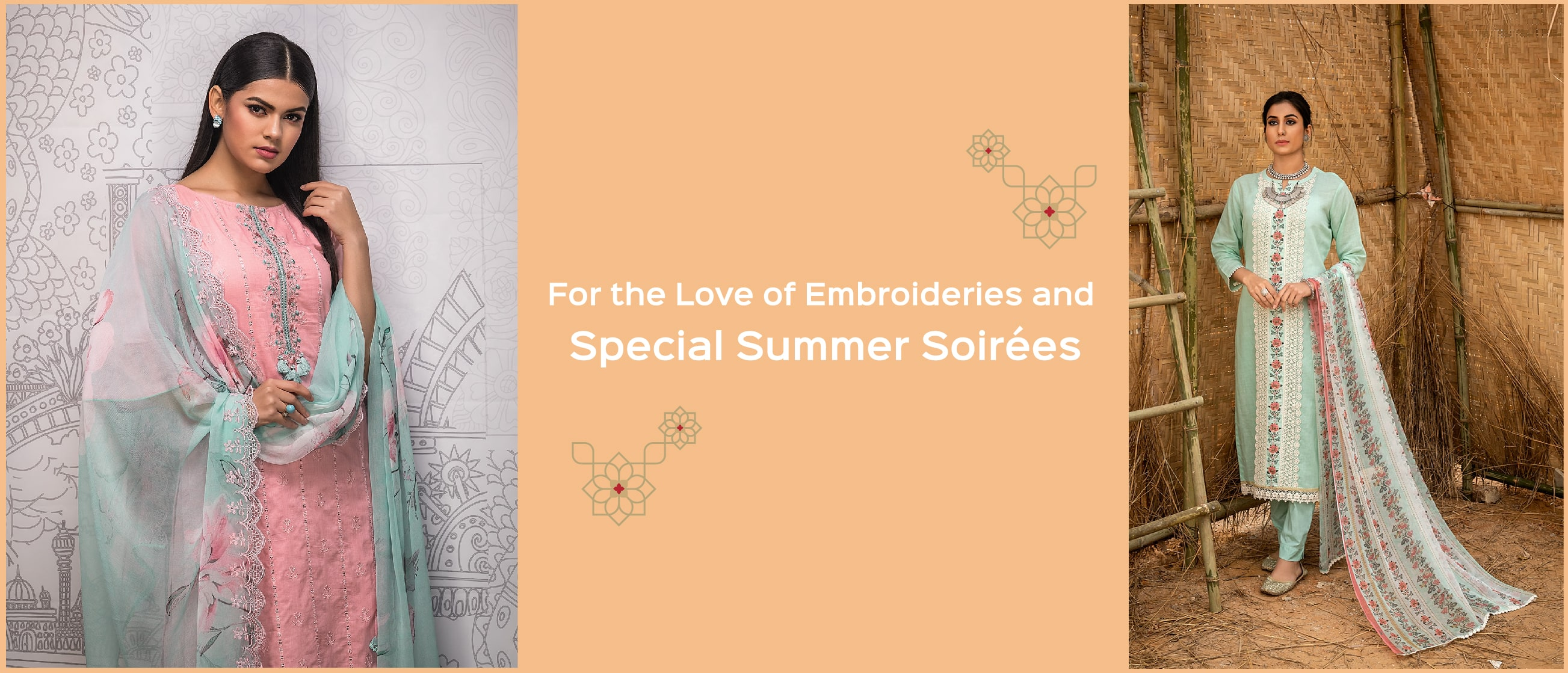For the Love of Embroideries and Special Summer Soirées
