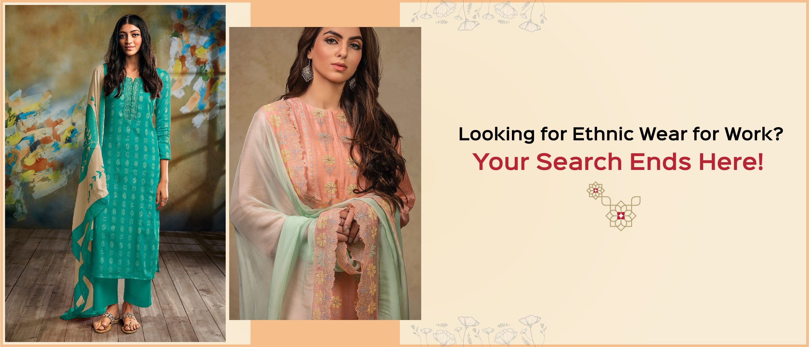 Looking for Ethnic Wear for Work? Your Search Ends Here!