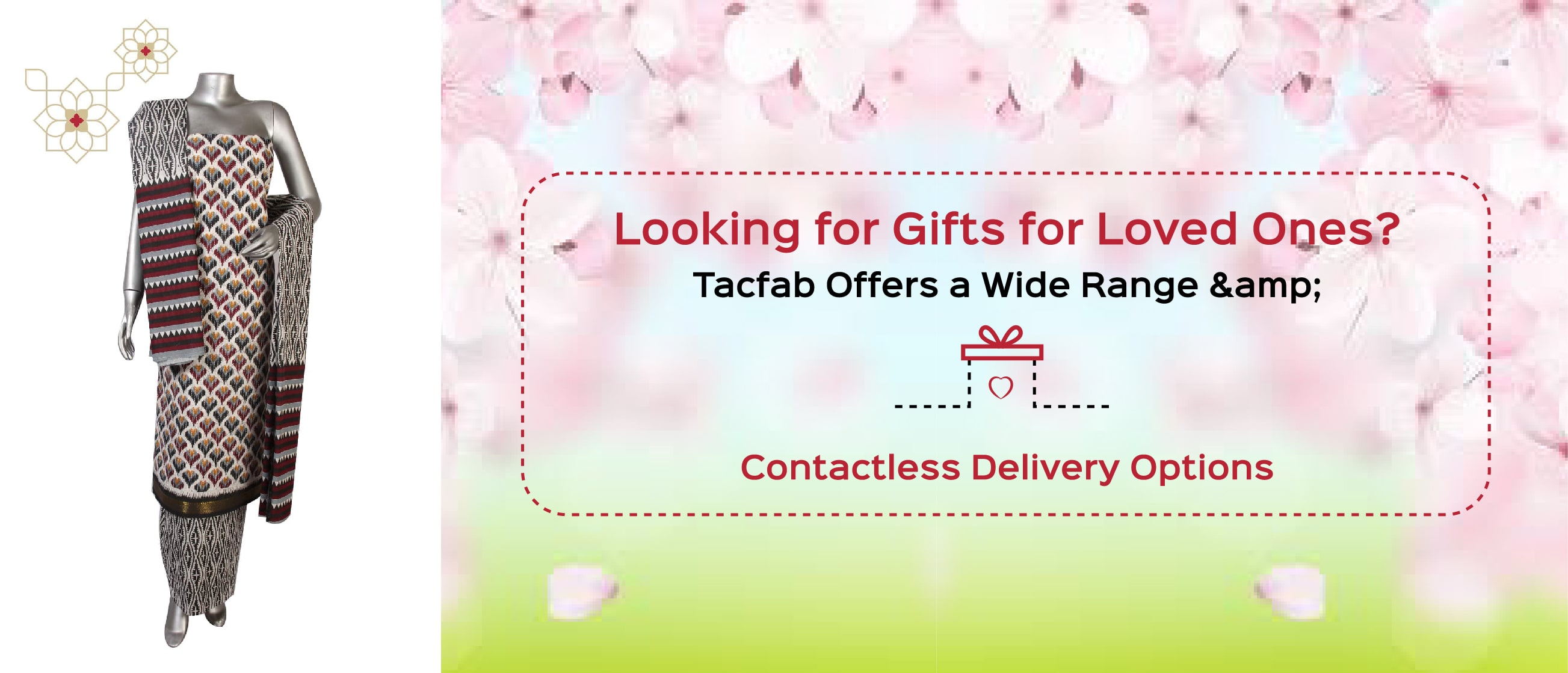 Looking for Gifts for Loved Ones? Tacfab Offers a Wide Range & Contactless Delivery Options
