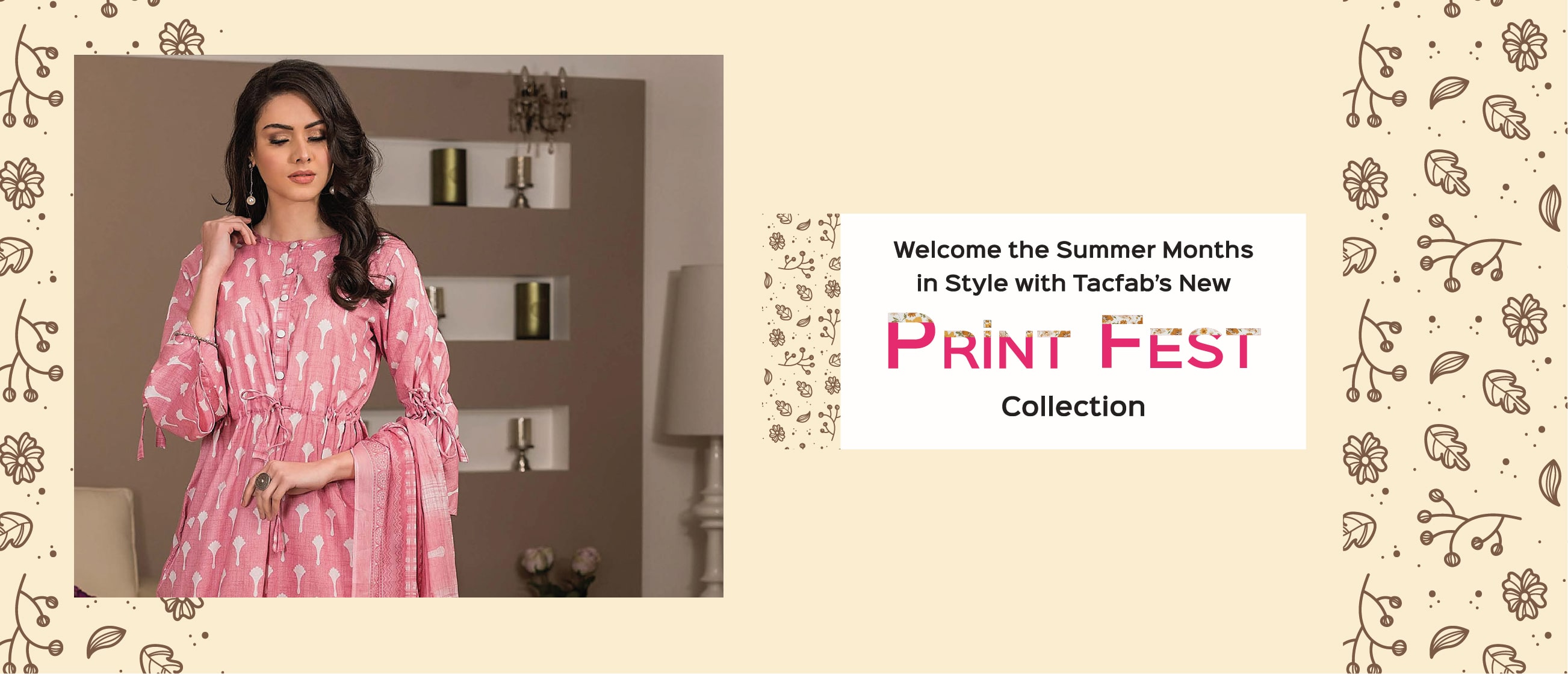 Welcome the Summer Months in Style with Tacfab's New Print Fest Collection