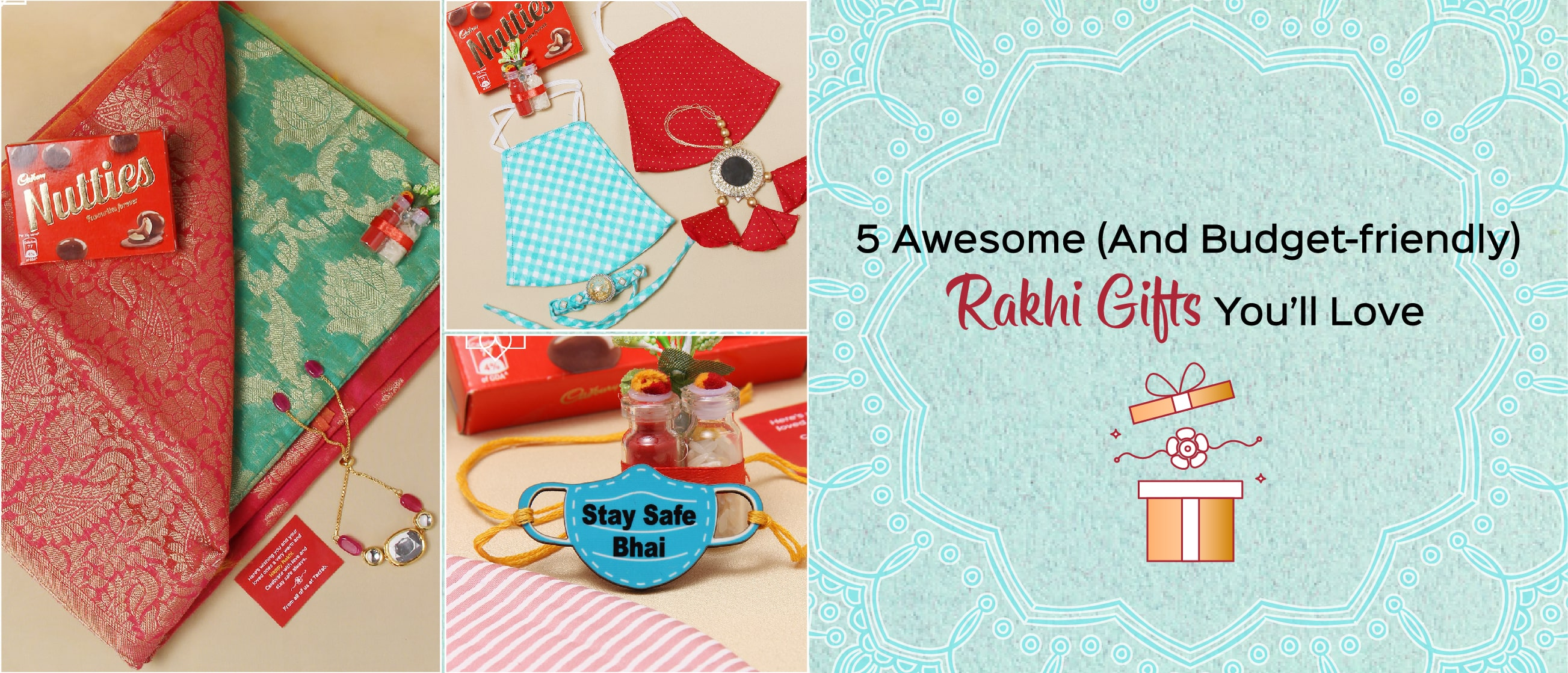 5 Awesome (And Budget-friendly) Rakhi Gifts You'll Love