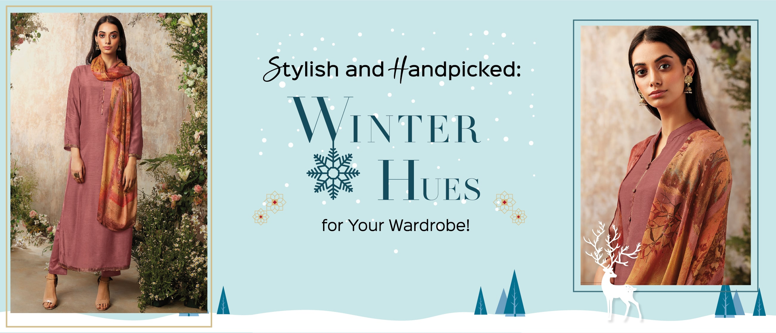 Stylish and Handpicked: Winter Hues for Your Wardrobe