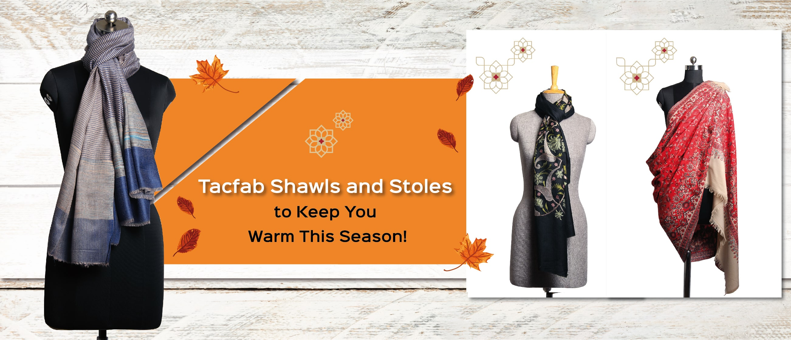 Tacfab Shawls and Stoles to Keep You Warm This Season