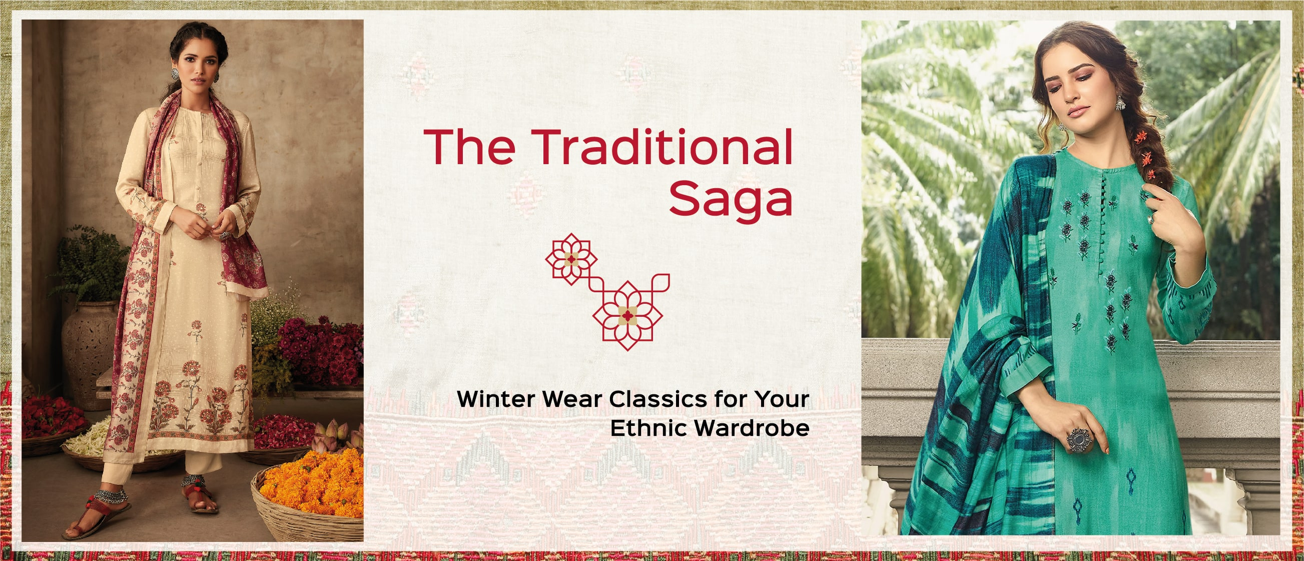 The Traditional Saga: Winter Wear Classics for Your Ethnic Wardrobe