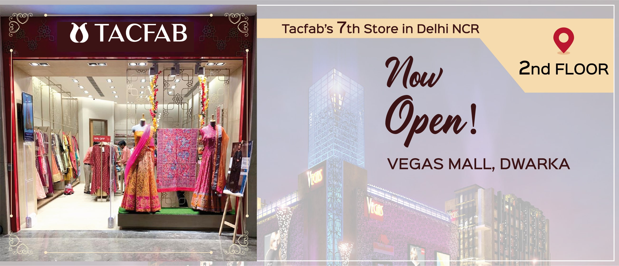 Tacfab's 7th Store in Delhi NCR Now Open at Vegas Mall, Dwarka