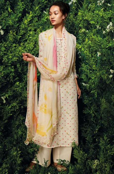 Cotton Beautiful Floral Digital Print Salwar Kameez with Dupatta - LET7434