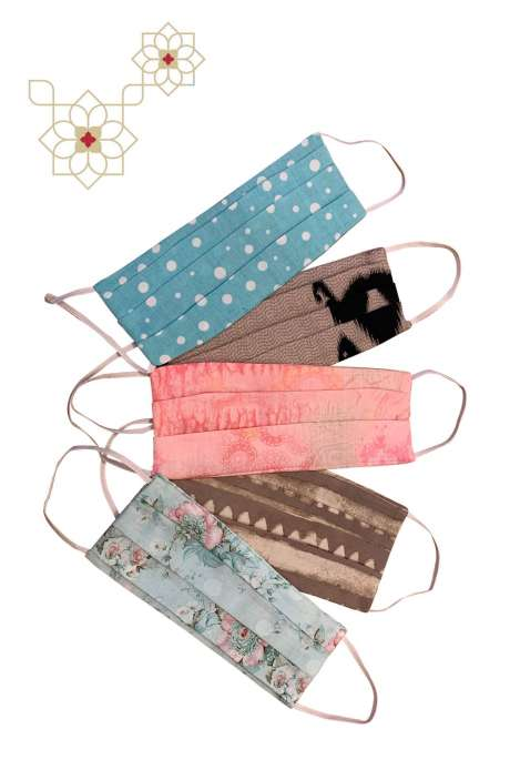 Cotton Digital Printed Face Mask (Set of 5) - MASK5