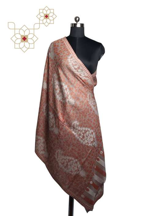 Multicolor MP Wool Woven Shawl - SHA09874481